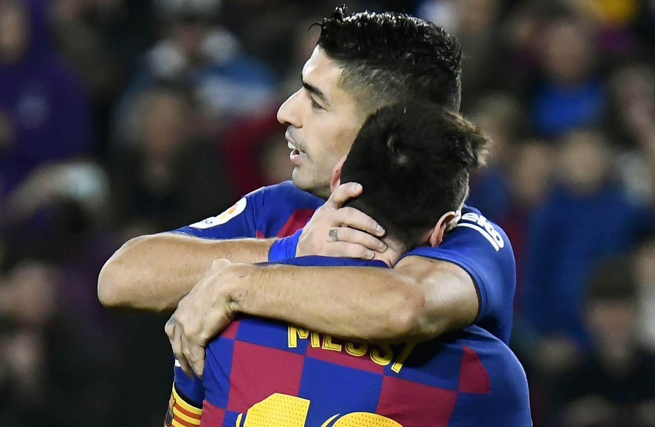 You Deserved A Proper Goodbye Not To Get Kicked Out Messi Criticises Barca Over Suarez Treatment