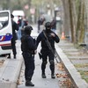 Two people seriously injured in Paris knife attack outside former Charlie Hebdo office