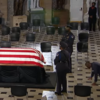 Ruth Bader Ginsburg lies in state at US Capitol where her trainer honoured her with push-ups