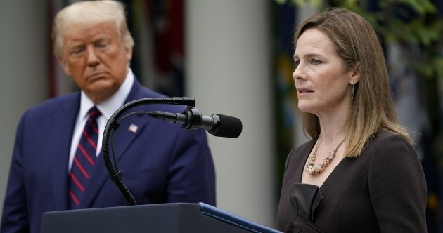 Trump nominates Amy Coney Barrett to be new Supreme Court Justice