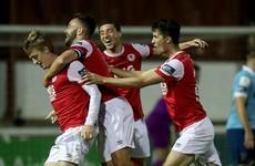 Forrester screamer snaps Pat's goalless streak in win over Shelbourne