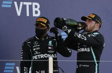 Bottas wins Russian GP after Hamilton hit by 'bull****' 10-second penalty