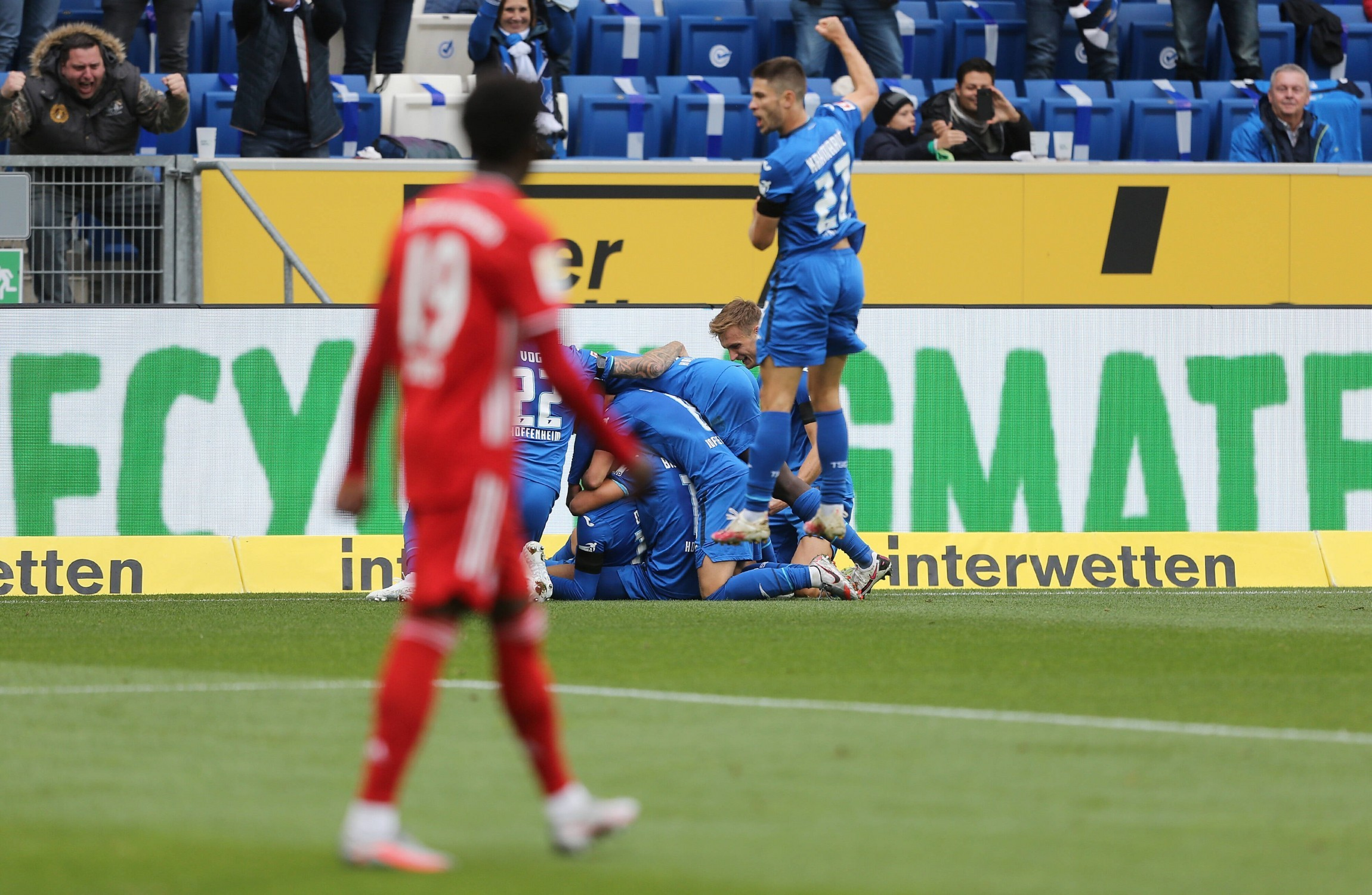 Bayern Suffer 4-1 Loss At Hoffenheim To End Long Unbeaten Run