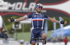 Alaphilippe savours first world title as Roche is only Irishman to finish in Imola