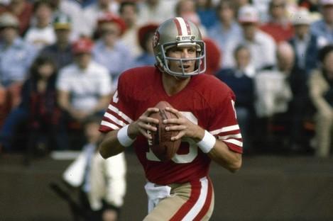 Ex-NFL star Joe Montana (file photo).
