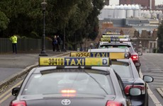 Up to 400 taxis take part in protests in Cork today