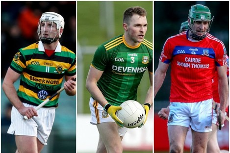Patrick Horgan, Conor McGill and David Burke are all in county final action this weekend.