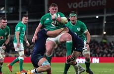 Furlong remains hopeful of being fit for restart of Ireland's Six Nations campaign
