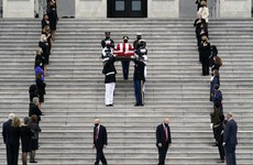 Ruth Bader Ginsburg laid to rest in private ceremony at Arlington Cemetery