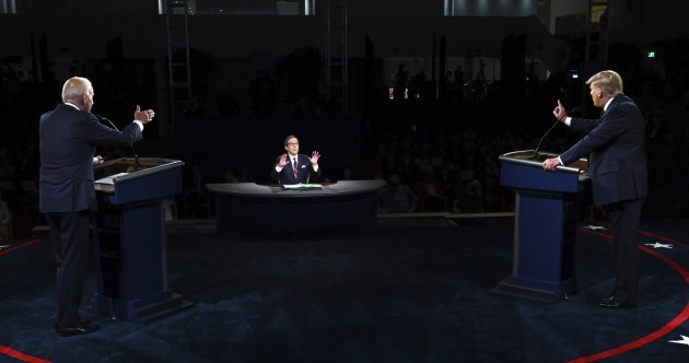 Chaotic, personal and ill-tempered: Five main points from the first Trump v Biden debate