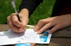 Poll: When was the last time you sent a letter or a card to family and friends?