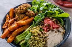 Sweet Potato and Falafel Buddha Bowl