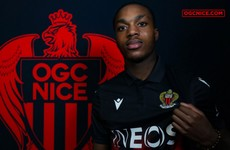 Patrick Vieira's Nice sign Irish striker Deji Sotona from Manchester United