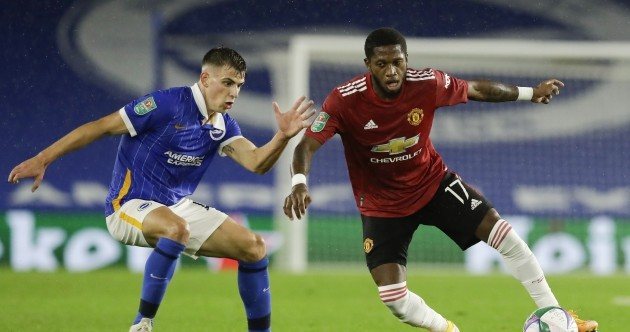 Molumby features for Brighton as Manchester United advance in the Carabao Cup