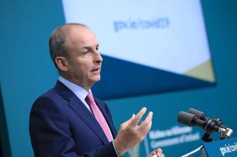 Taoiseach Micheál Martin (file photo).