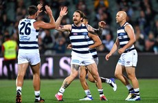 Tuohy grabs goal but Geelong fall in AFL finals opener
