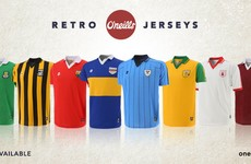 O'Neill's unveil new range of retro GAA county jerseys from 80s and 90s