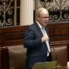 There was another 'unparliamentary language' incident in the Dáil today