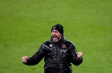 Giovagnoli wants to face Mourinho's Spurs as he guides Dundalk to Europa League