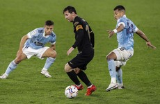 Messi and Fati combine again to lead 10-man Barcelona to victory