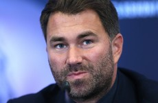 Boxing promoter Eddie Hearn tests positive for Covid-19