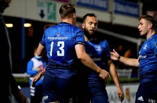 Leinster start new season with bonus-point win but Sexton injury a concern