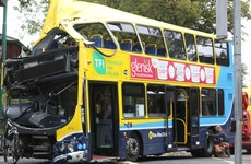 Eight people injured, two seriously, in crash involving a Dublin Bus and a car in south Dublin