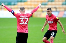 19-year-old Irish midfielder impresses as Wayne Rooney's moment of magic wins it for Derby