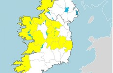 Status Yellow rain and wind warnings to kick in for many areas tomorrow morning