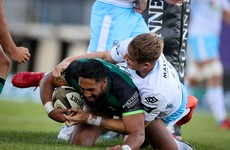 Brilliant Bundee Aki leads Connacht to thrilling win over Glasgow in Galway