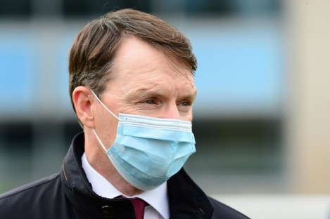 Trainer Aidan O'Brien [file photo].