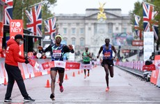 Stephen Scullion takes more than two minutes off marathon PB to finish 11th in London