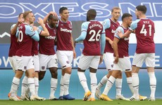 Antonio scores again as Leicester surrender 100% Premier League start to West Ham