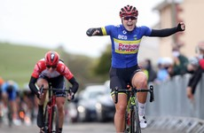 Lara Gillespie claims national title in tense sprint finish