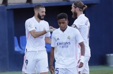 Real Madrid seal third straight win of new La Liga season