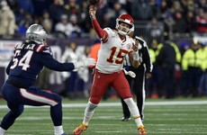 Patriots' clash with Chiefs moved to Monday following virus scare
