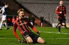 Bohemians winger Twardek seals Poland move