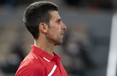 Novak Djokovic admits 'awkward deja vu' after ball hits line judge again
