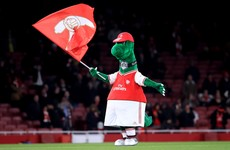 Arsenal fans outraged after club release beloved mascot Gunnersaurus