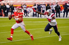 Patrick Mahomes throws two TDS as Chiefs improve to 4-0