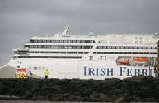 Crew member of ferry missing after overnight search in Irish Sea