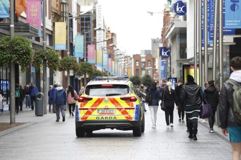 Henry Street in Dublin city.