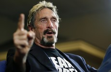 Spain detains software creator McAfee who is wanted in US for tax evasion