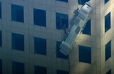 Two workers rescued after scaffolding collapse in New York City