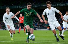 Josh Cullen called into Ireland squad for injured Arter after sealing Anderlecht move
