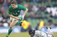 Update on O'Driscoll injury delayed due to weather