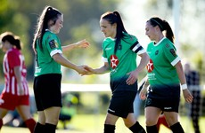 Table-toppers Peamount take all three points after hard-fought win over DLR Waves
