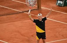 'Crazy' Schwartzman shocks Thiem in five-hour epic to reach first Slam semi at Roland Garros