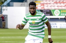 Celtic's Odsonne Edouard tests positive for coronavirus on international duty