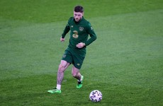 Byrne included in Ireland's matchday squad, Long and Cullen left out